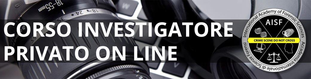 corso per detective on line