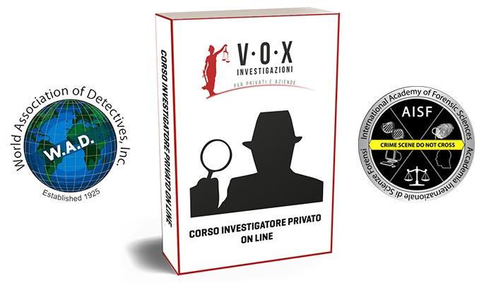 corso investigatore online
