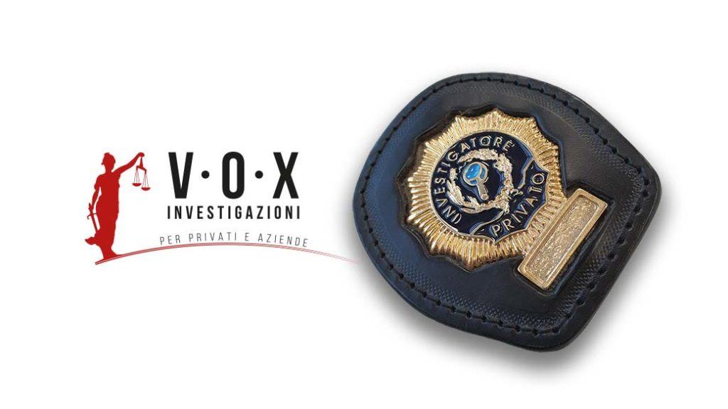 tesserino investigatore privato