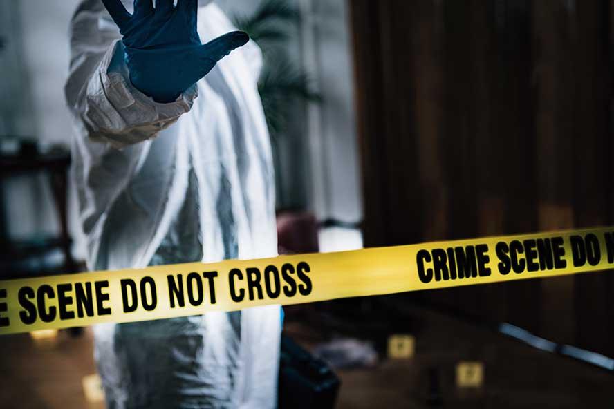 sulla scena del crimine
